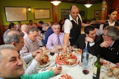 Centolada de la Cofradia do Centolo Larpeiro, restaurante A Lareira do Larexo, O Grove centolo centollo centolla